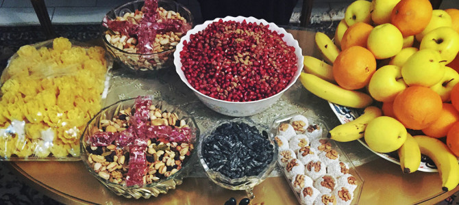 Celebrating YALDA (Winter Solstice) the Iranian Way!