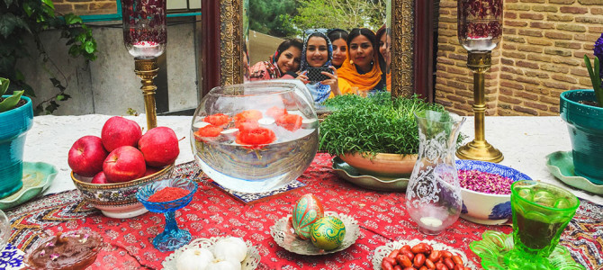 Wrapping 1394 and Welcoming NOWRUZ, The New Persian Year