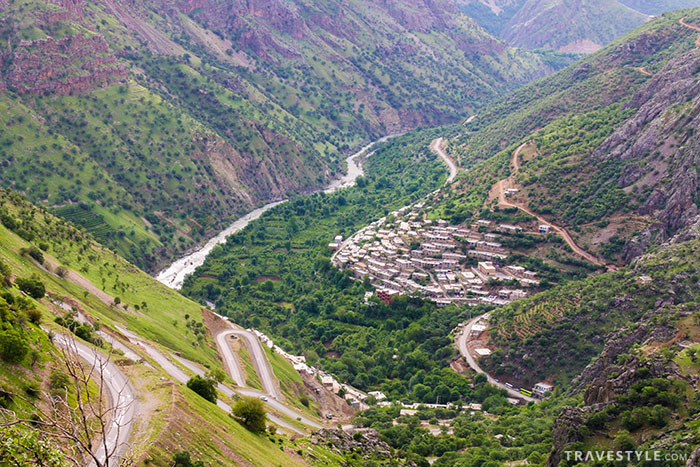 An itinerary for a lush roadtrip in Kurdistan, Iran