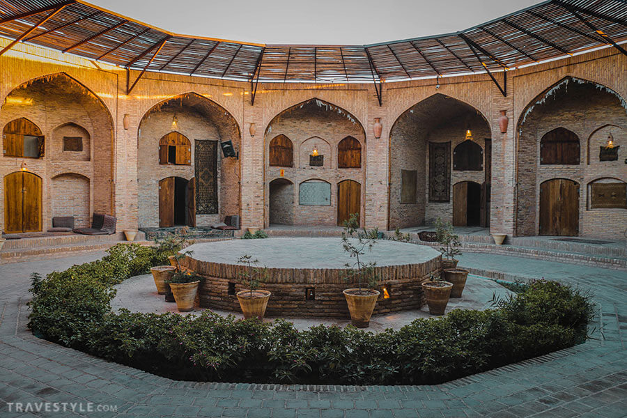 Zeinoddin Caravanserai, Yazd, offbeat places to visit in Iran