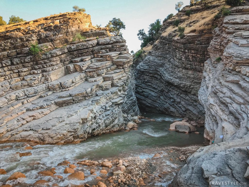 Hald canyon in Lorestan
