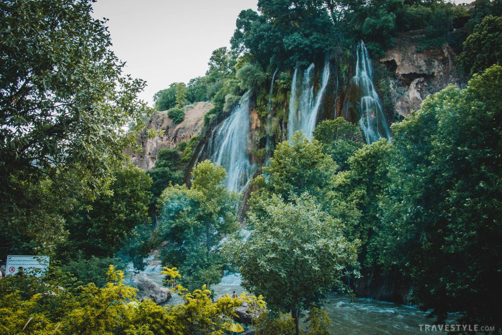Bisheh waterfall in Khorramabad
