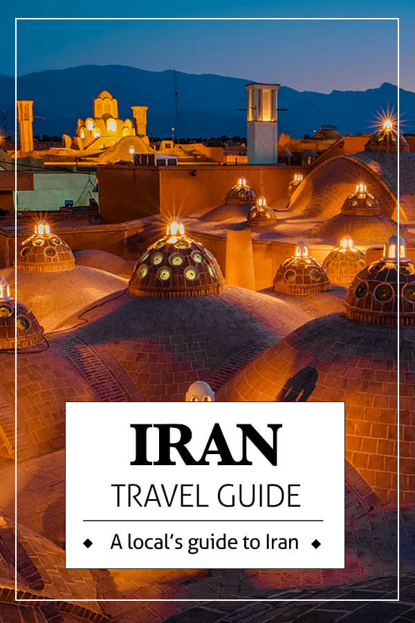 Travel to iran pin