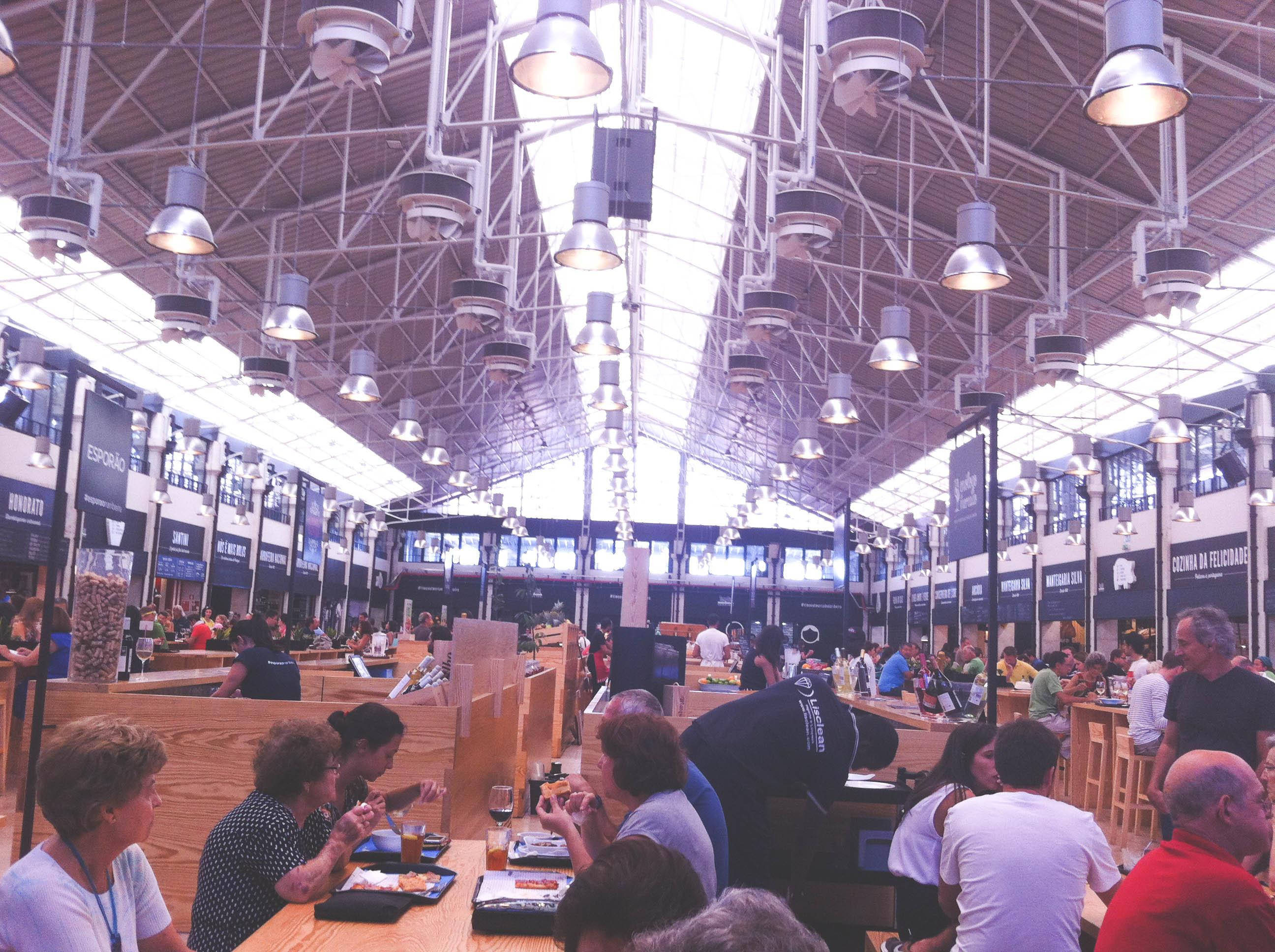 A taste of Lisbon in Mercado da Ribeira