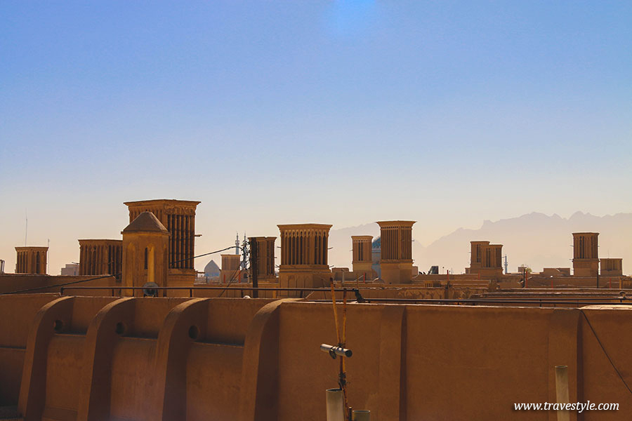 Impressions of photogenic Yazd