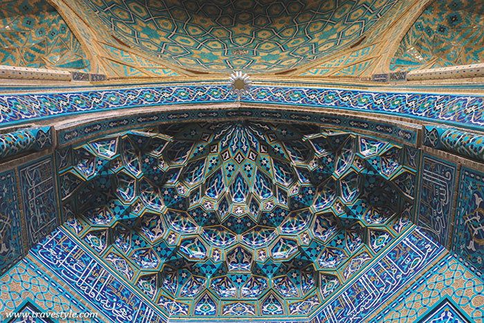 Photo Essay: Ceilings of Iran