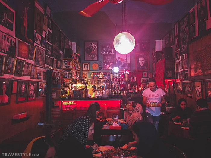 Gol Rezaeiye Restaurant in Tehran, iran