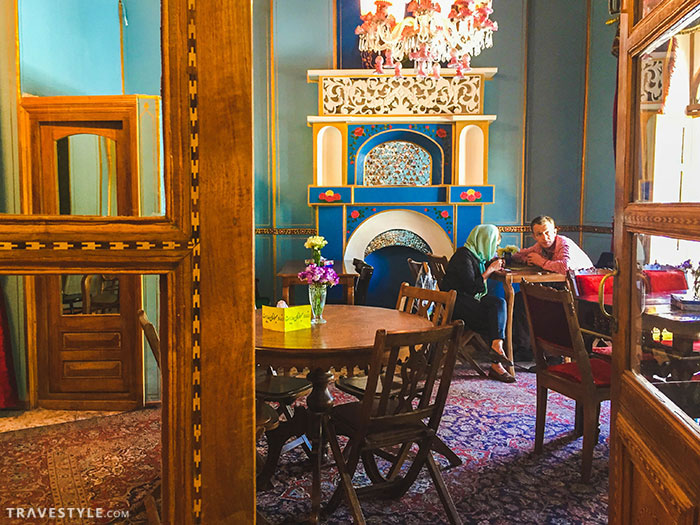 Persian Paradise in Firuz Sherbat House | Esfahan, Iran