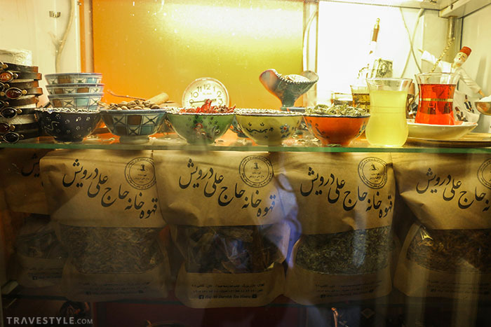Haj Ali Darvish Tea house in Tehran grand bazaar