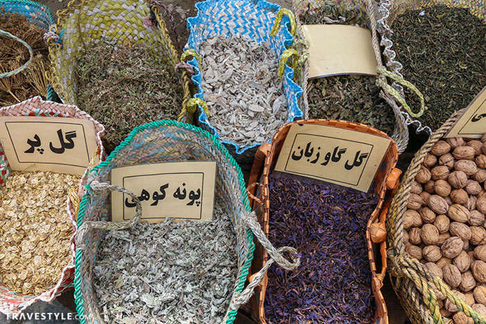 The village of Javaher Deh, Iran