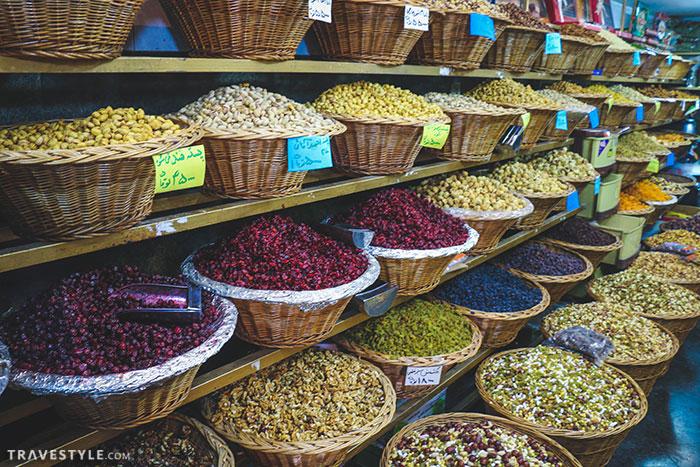 Iranian souvenirs: Nuts in iran