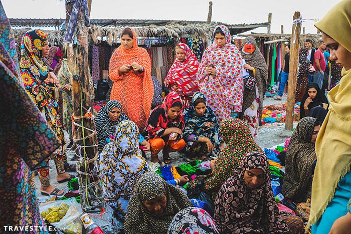 Mianb Thursday market - A trip to Bandar Abbas and Hormoz island