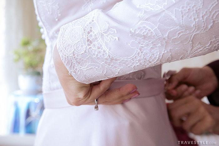 The Persian wedding dress