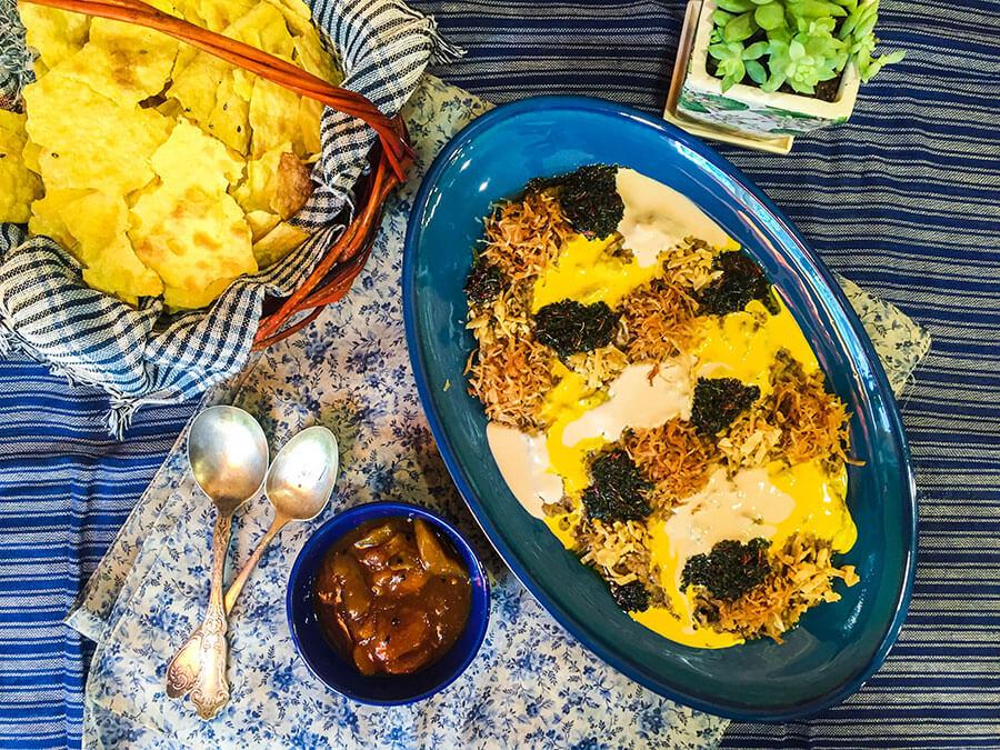 Kashk-e Bademjan | Persian Food