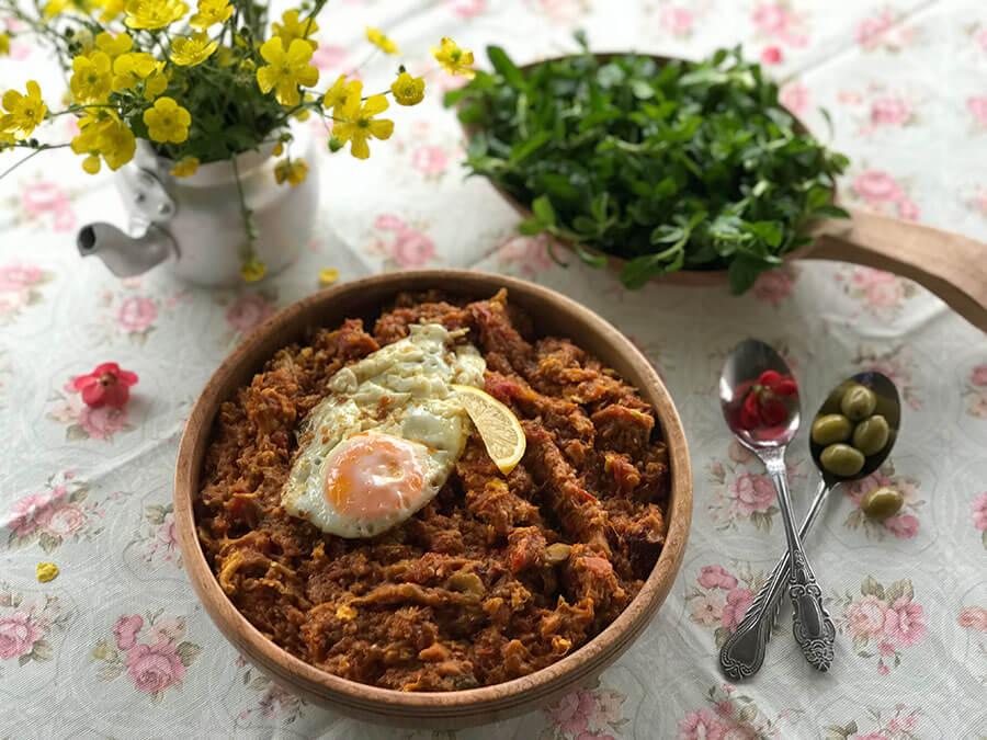 Mirza Ghasemi | Persian Food