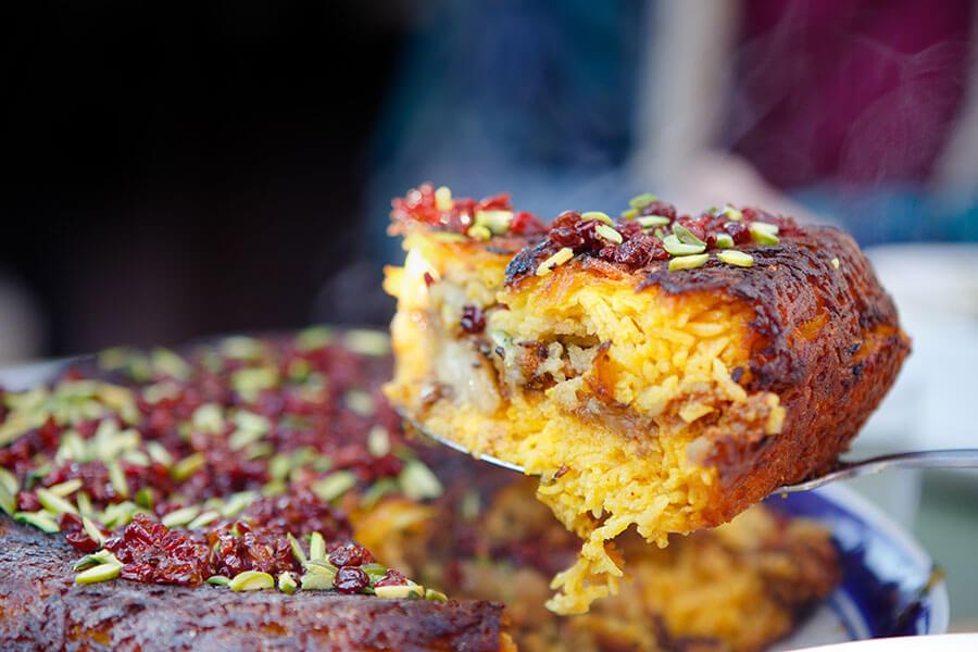 Tahchin | Persian Food