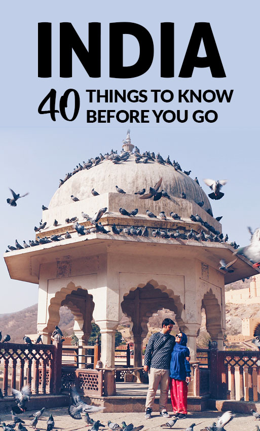 40 things you should know before your trip to India