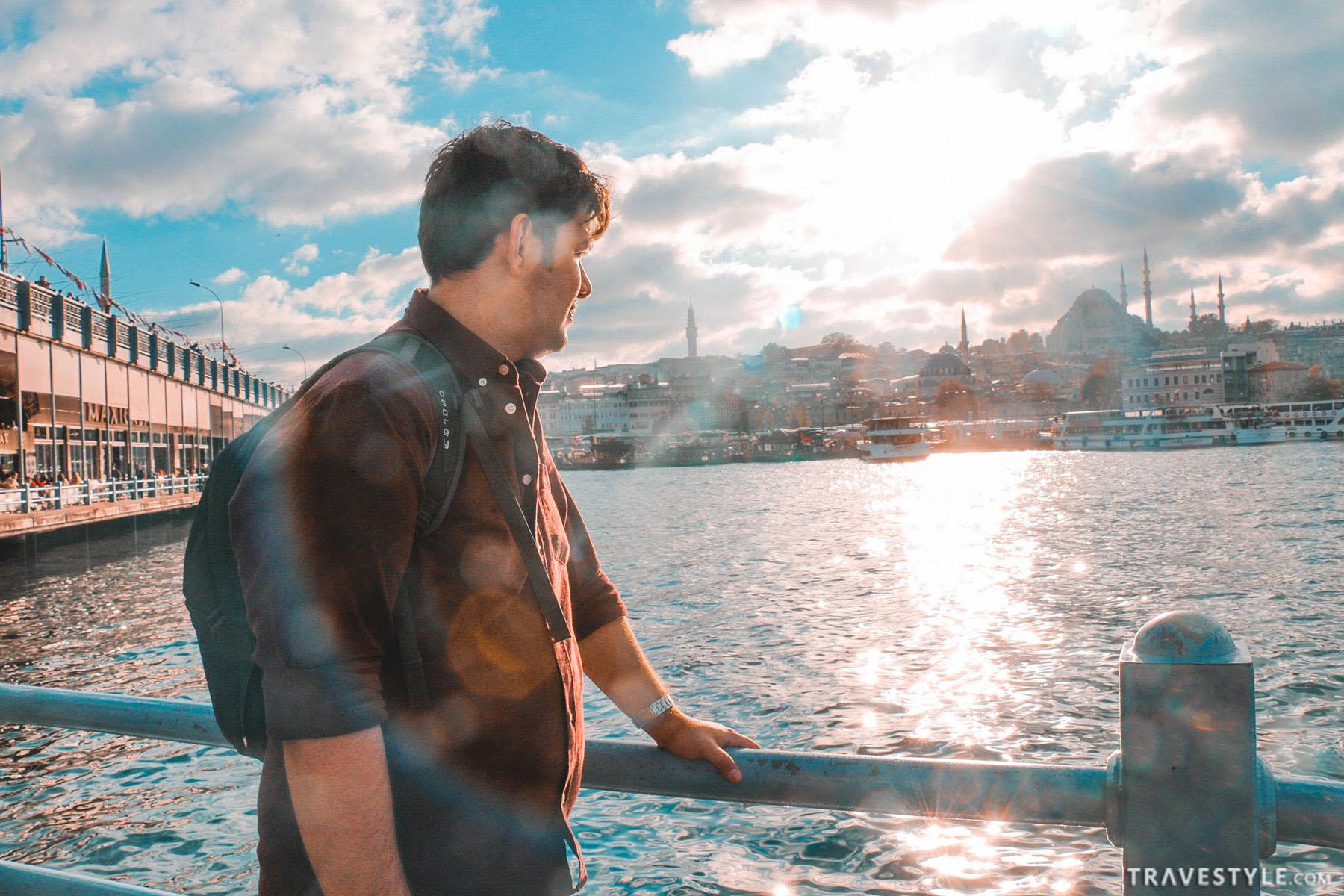 Istanbul Travel guide Galata bridge