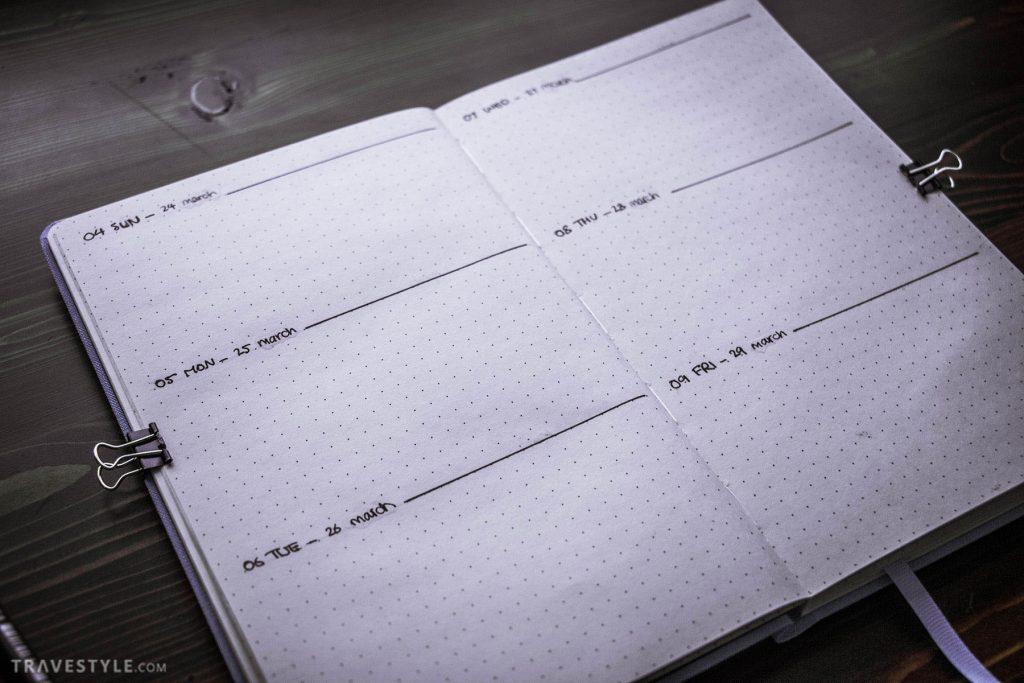 راهنمای کامل برنامه ریزی با بولت ژورنال