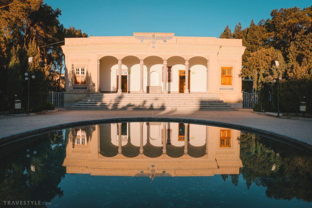 Yazd Zoroastrian fire temple, Iran