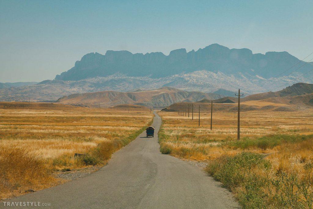 road trip in Lorestan province