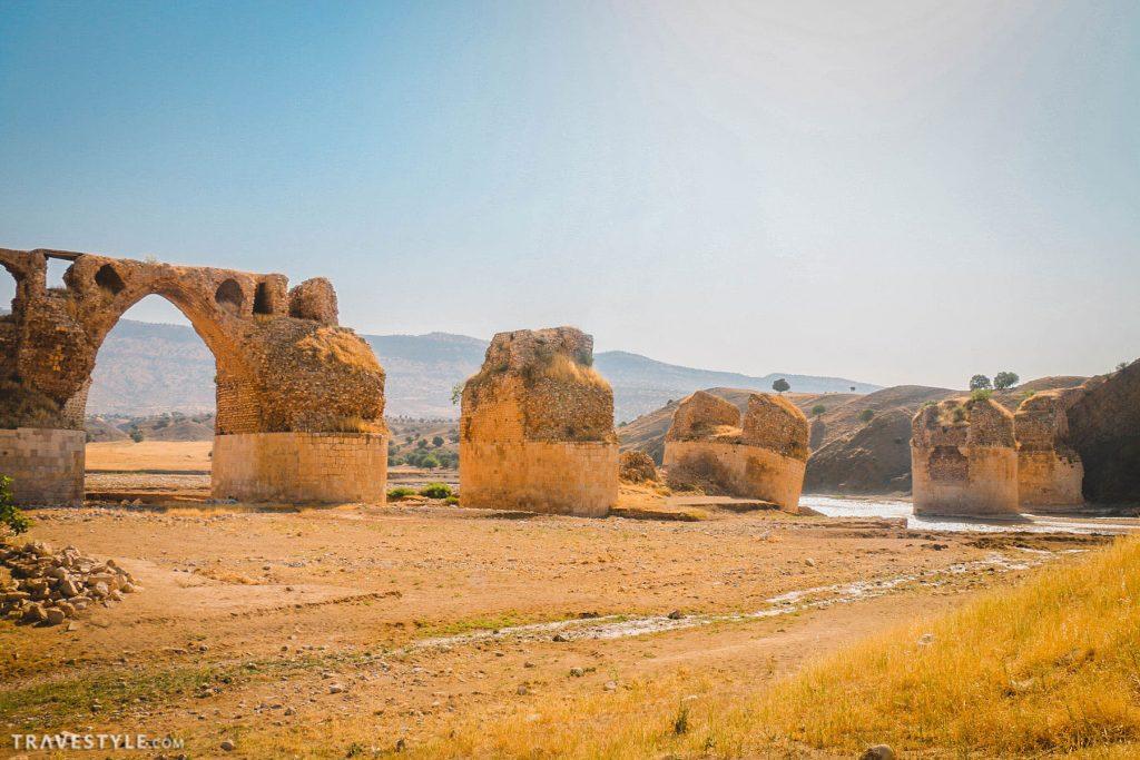 Kashkan bridge in Lorestan province