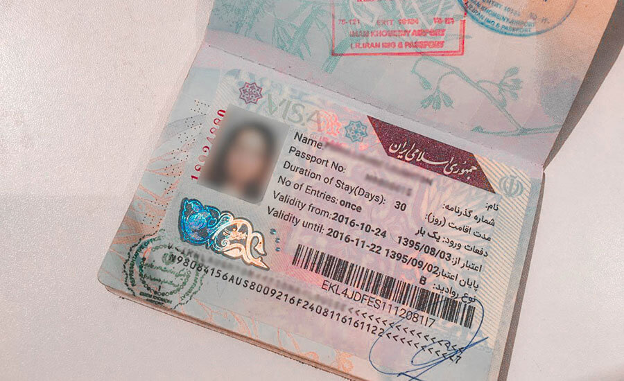 How to get Iran visa on arrival?