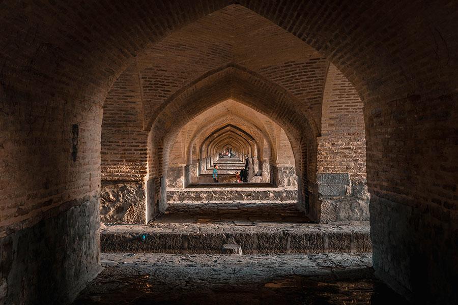 Khajoo bridge | iran travel