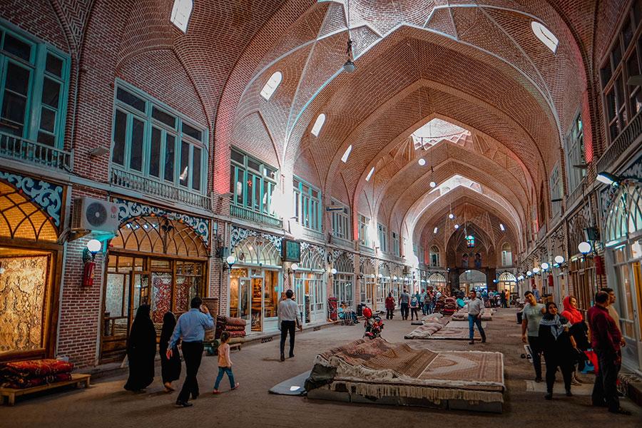 Tabriz bazaar, Iran travel