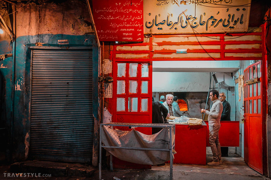 Darvazeh Kazeroon Market in Shiraz - Iran bazaars