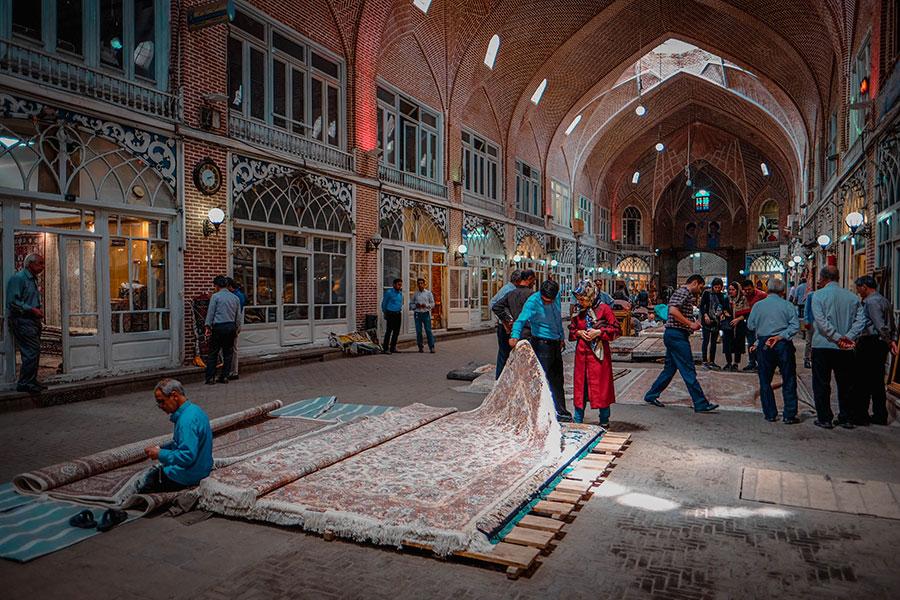 Timcheh Mozafarieh, Tabriz bazaar of Iran