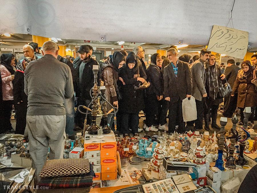 Jome bazaar of Tehran, Iran bazaars