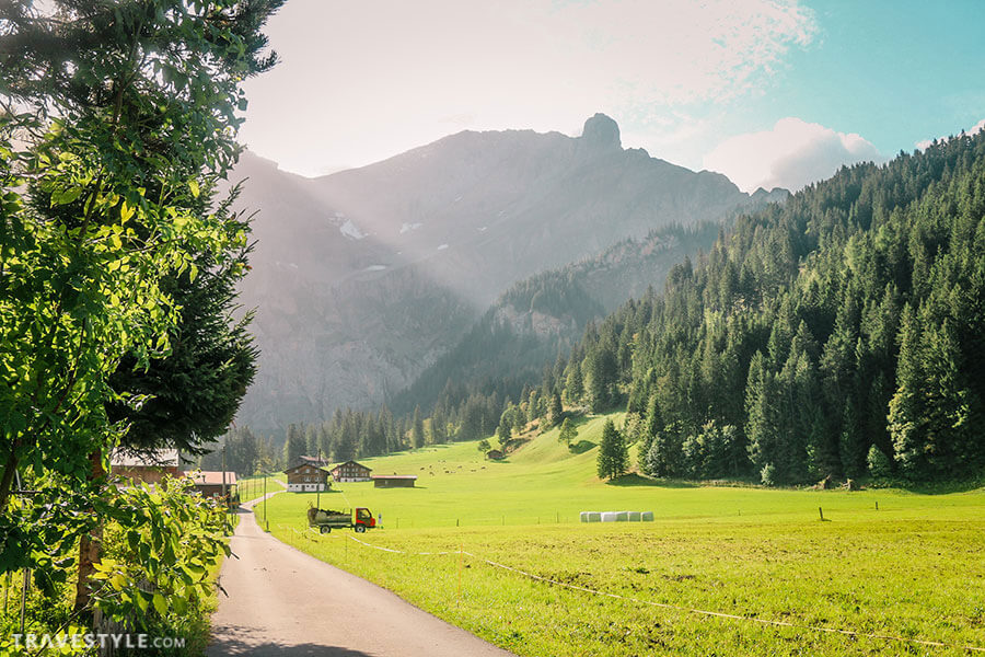 Adelboden countryside - Switzerland itinerary