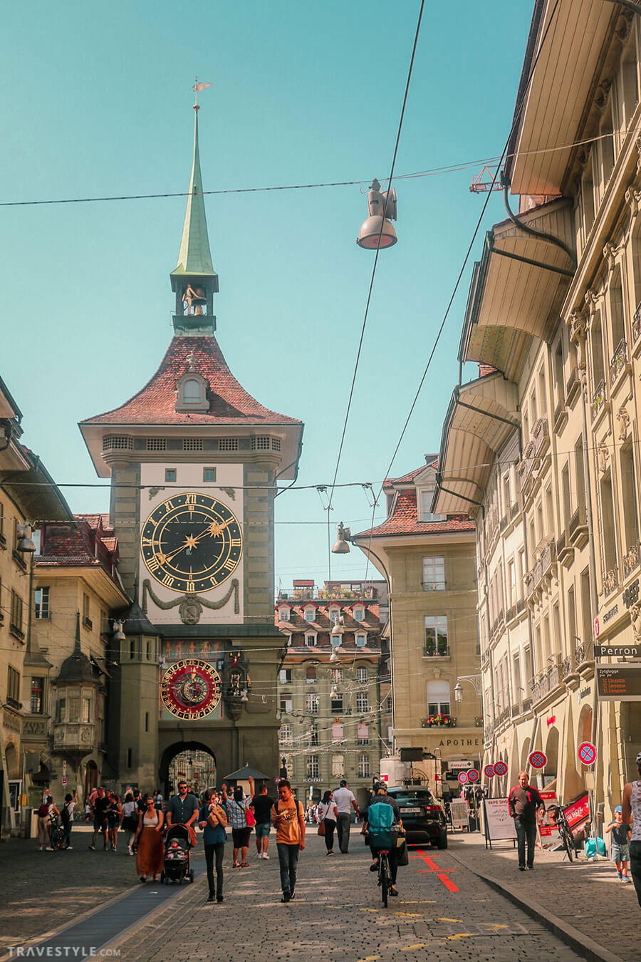 Clock tower of Bern - Switzerland itinerary