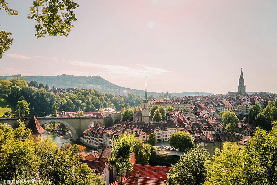 Bern - Switzerland itinerary