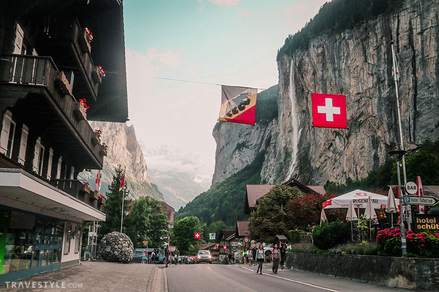 Lauterbrunnen Valley - Switzerland itinerary