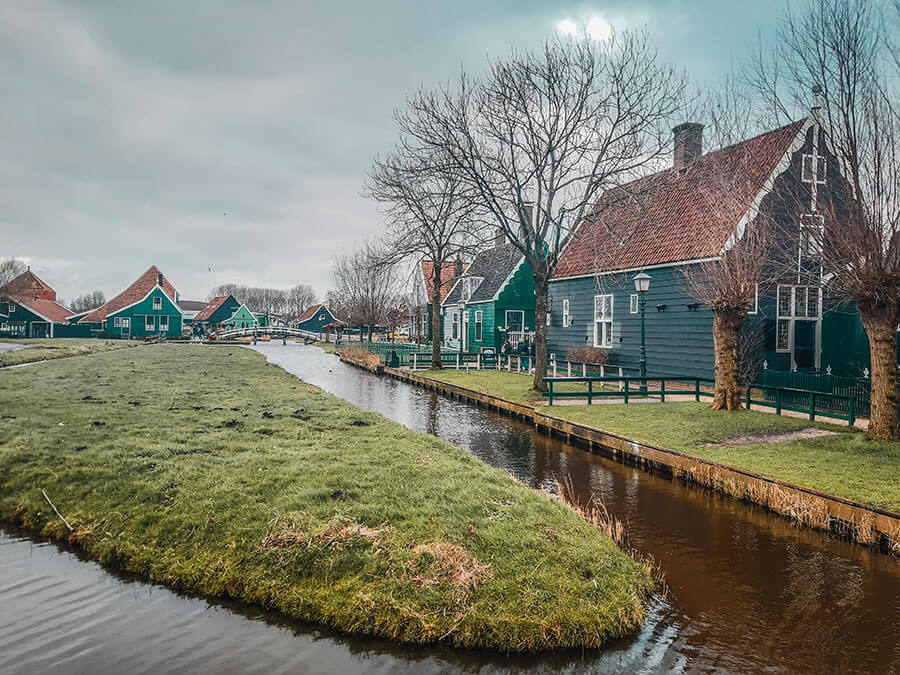 Zaanse Schans amsterdam netherlands